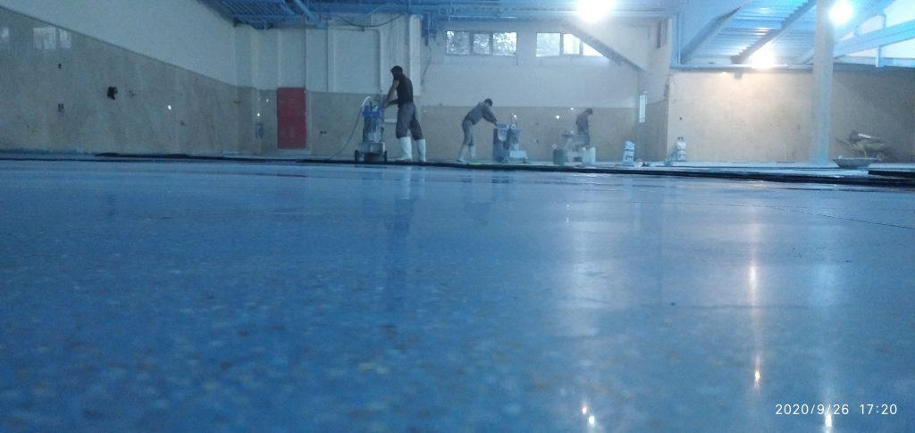 کف سازی کارخانه
