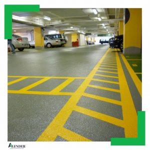 کف سازی پارکینگ، انواع کفپوش پارکینگ و مزایا